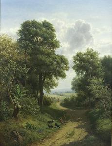 Boslandschap te Java