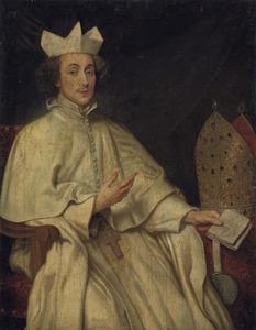 Portret van de Norbertijn Herman Joseph van der Porter (?-?), abt van de St. Michaelsabdij te Antwerpen