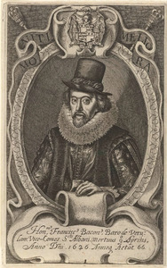 Portret van de wetenschapper Francis Bacon (1561-1626)