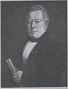 Portret van Antonie Veen (1792-1872)