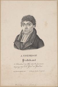 Portret van Albert Goedkoop (1778-1852)