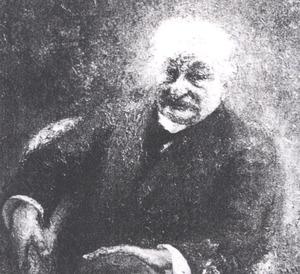 Portret van J.H. Boom Sr.