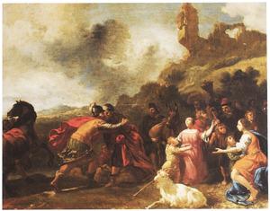 Het afscheid van Lot en Abram [Abraham] (Genesis 13: 1-18)