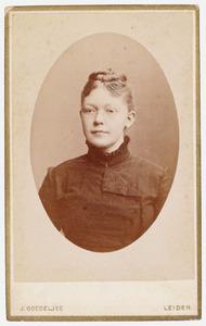 Portret van Johanna Catharina van der Mark