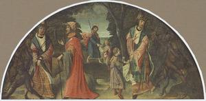 Philetus gered van de tovenarij van Hermogenes (legende van de H. Jacobus de Meerdere)