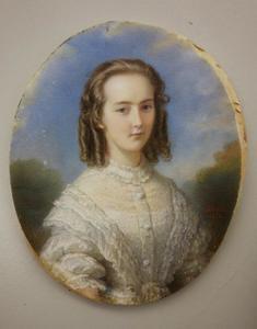 Portret van Agnes Boreel (1843-1857)