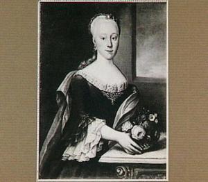 Portret van Octavia Cornelia Suzanna van Rheden, echtgenote van Wicher van Swinderen