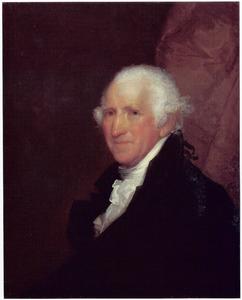 Portret van Dr. William Aspinwall