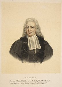 Portret van Johannes Lulofs (1711-1768)