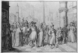 Koning Erik Ejegod van Denemarken wordt in Constantinopel door de Byzantijnse keizer ontvangen in  1103