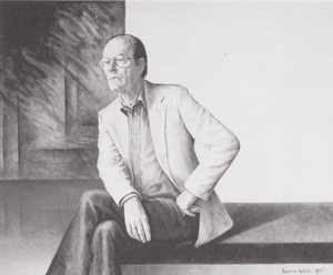 Portret van Ton Lutz (1919- )