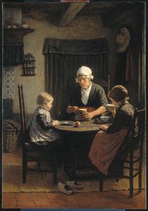 Bij grootmoeder