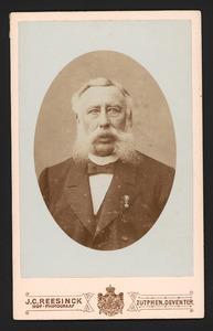 Portret van Louis Cato van der Feltz (1833-1920)