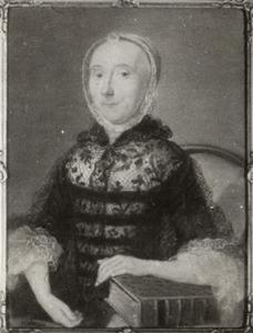 Portret van mogelijk Margaretha Catharina Sleght (1726-1804)