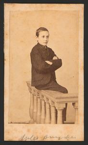 Portret van Julius Willem Buyskes (1855-1869)