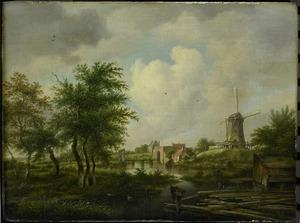 Amsterdam, de Buitensingel met de Weteringspoort en de afgebroken wallen