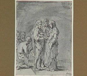 Lazarillo's huwelijk wordt ingezegend (Lazarillo de Tormes dl. 1, cap. 18, p. 52)