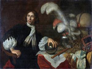 Portret van Augustus Stellingwerf (1635-1665)