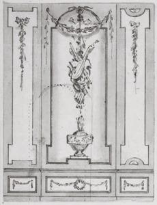 Ontwerp van een zaalwand voor Arent van Hasselt