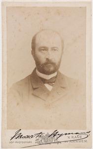 Portret van Martinus Hijmans van Wadenoyen (1834-1908)