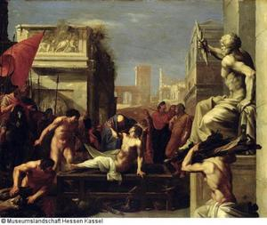 Het martelaarschap van St. Laurentius