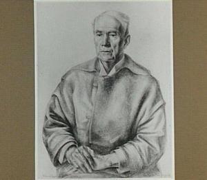 Portret van de schilder Willem van Konijnenburg