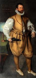 Portret van Martin Frobisher (?-1594)