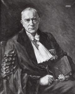 Portret van Johannes Franciscus Nuboer (1900-1979)