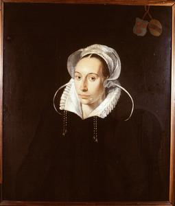 Portret van Maria van der Burg