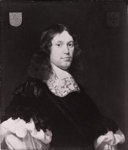 Portret van Jan Adriaan de Kies van Wissen (1642-1682)