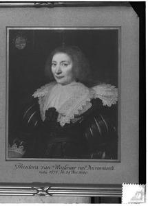 Portret van Theodora van Wassenaer van Duvenvoirde (1577-1660)