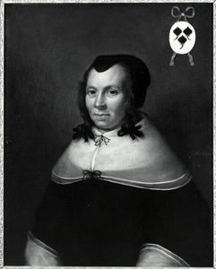 Portret van Alida Graswinckel (1593-1669)