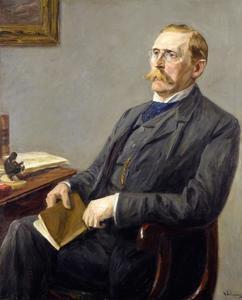 Portret van Wilhelm von Bode (1845-1929