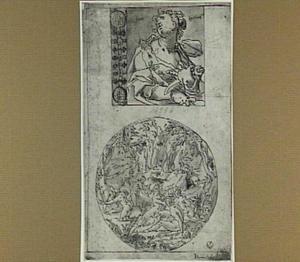 Fides (boven), Diana en Actaeon (onder)