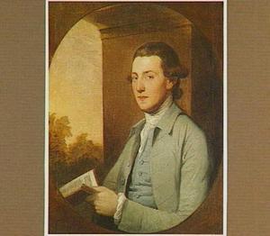 Portret van een man, mogelijk Robert Darcey, 8th Baron Conyers en 4th Earl of Holderness (1718-1778)