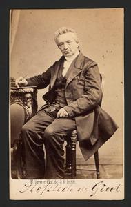 Portret van Petrus Hofstede de Groot (1802-1886)