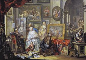 Atelier van de kunstenaar