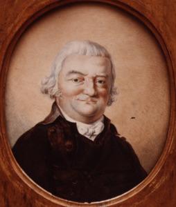 Portret van Pieter Adrianus Bergsma (1743-1824)