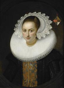 Portret van Maria van Roubergen (1600-1662)
