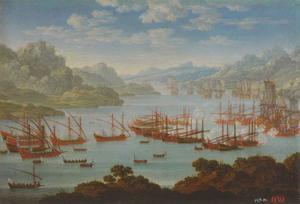 Zeeslag, vermoedelijk de slag bij Grenhamn (1720)
