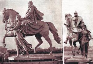 Gipsmodel voor het Eeuwfeest-monument voor Keizer Wilhelm I