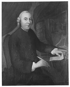 Portret van Abraham Blusse (1726-1808)