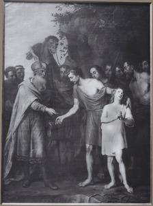 Jozef door zijn broers verkocht aan de Medianieten (Genesis 37:27-28)