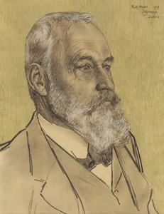 Portret van Karl Friedrich Meyer-Fierz (1847-1917)