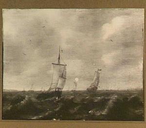 Haringbuisen op zee