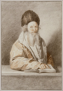 Portret van Levi Heiman van Breslau (1771-1809)