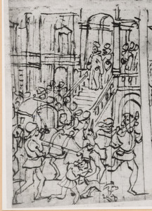 De H. Giovanni Gualberto en een wonderbaarlijk noodweer bij het klooster van Moscheta