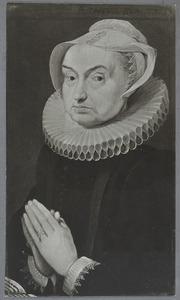Portret van een 73-jarige vrouw