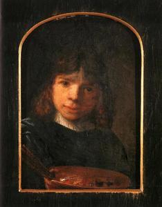 Portret van een jonge man, waarschijnlijk een zelfportret