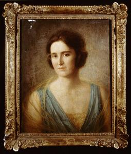Portret van Catharina van den Wall Bake (1897-1928)